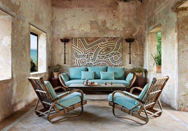 Yves Saint Laurent et Pierre Bergé ont habité cette somptueuse demeure à Tanger