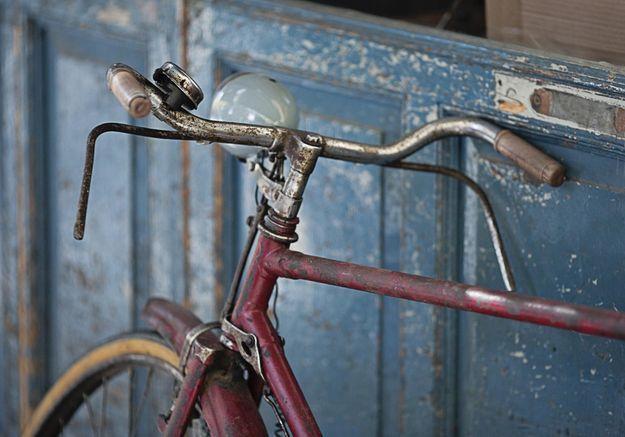 Un ancien vélo
