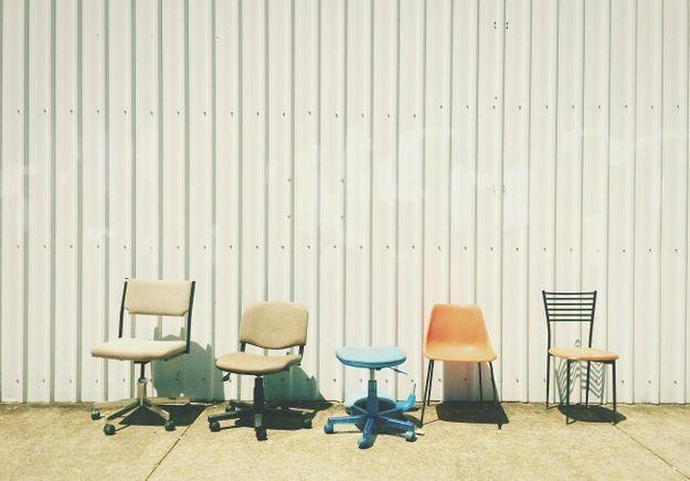 Une chaise design année 70