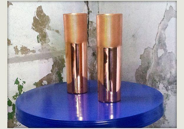 Vases cuivre « Tom Dixon »