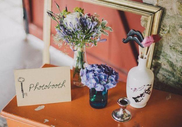 Pour un Photobooth romantique et vintage