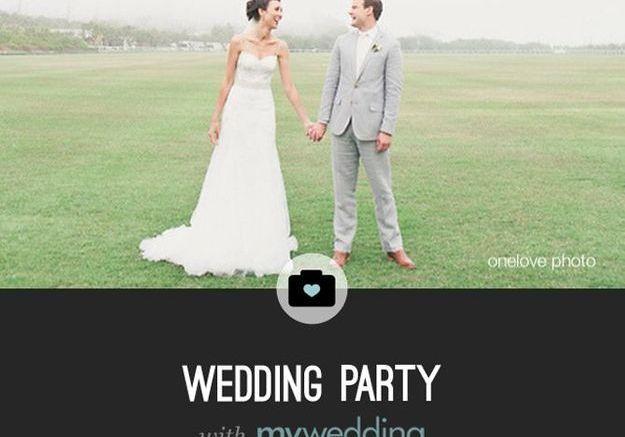 Wedding Party, pour le partage des photos