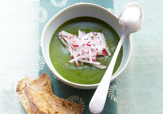 Des soupes légères pour garder la ligne