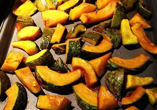 Les légumes rôtis au four de Zooey Deschanel