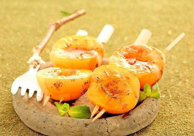 Des abricots rôtis