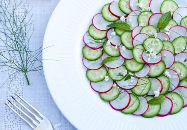 Vive le carpaccio de légumes !