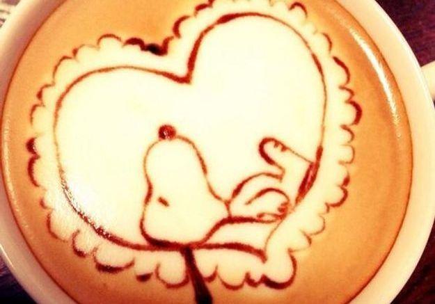 Snoopy dans un coeur