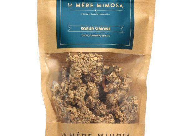 Granolas salés de La Mère Mimosa