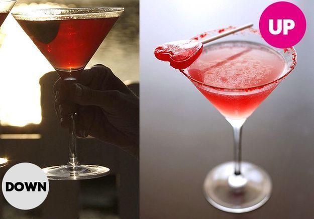 Cuisine recettes cocktail ete cosmopolitan