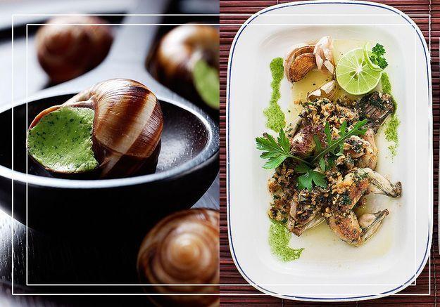 Grenouilles/escargots : le match des tables branchées