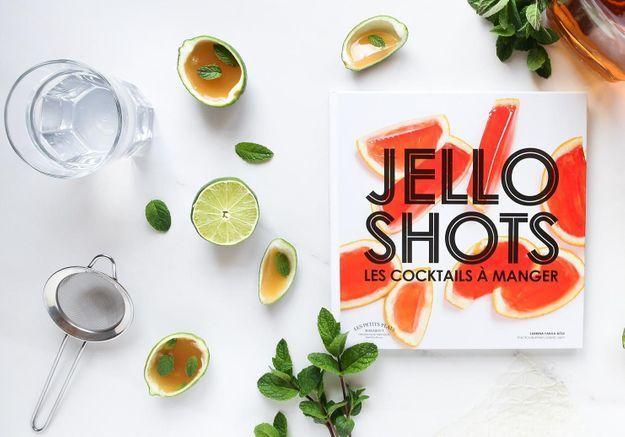 Jello shots, les irrésistibles cocktails à croquer