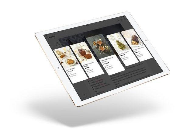 L'application ELLE à table se décline maintenant sur tablette