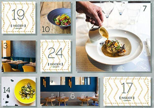 La plateforme de réservation LaFourchette lance une opération « calendrier de l'Avent » inédite.