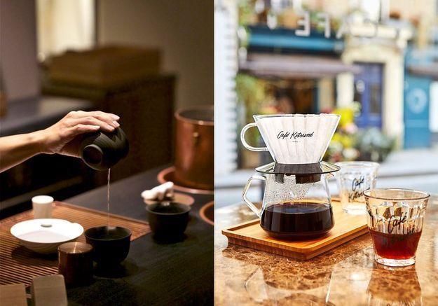 Leurs vertus, leur rituel, les meilleures adresses : le nouveau match thé / café
