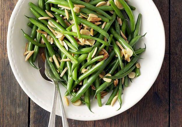 cuisson des haricots verts - elle à table