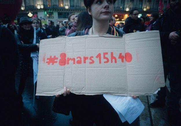 #8mars15h40 : les Françaises en grève ?