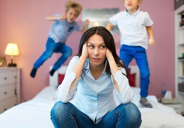 Deux enfants et un travail à temps plein ? Vous faites partie des mères les plus stressées