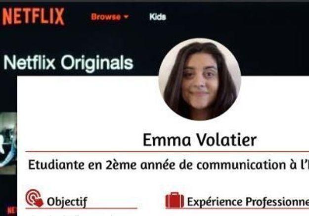 Fan de séries, elle réussit à attirer l'attention de Netflix avec son étonnant CV