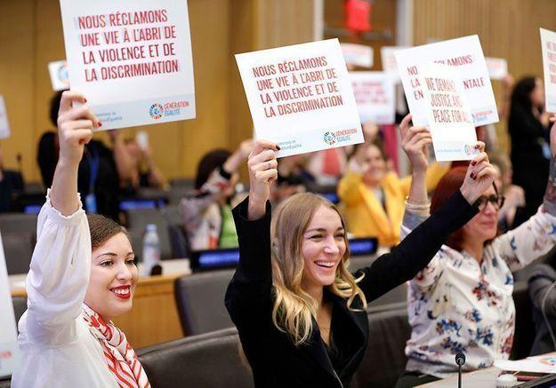 Génération Égalité : pour la défense des droits des femmes