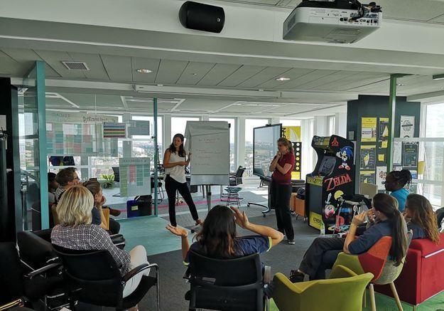 L'improvisation théâtrale pour aider des techniciennes à lutter contre le sexisme ? On y était et on vous raconte !