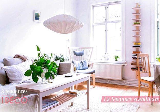 3 Tendances pour 1 Déco - Le style Scandinave !