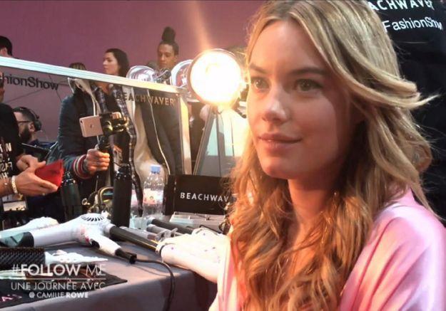 Dans les coulisses du défilé Victoria's Secret avec Camille Rowe !