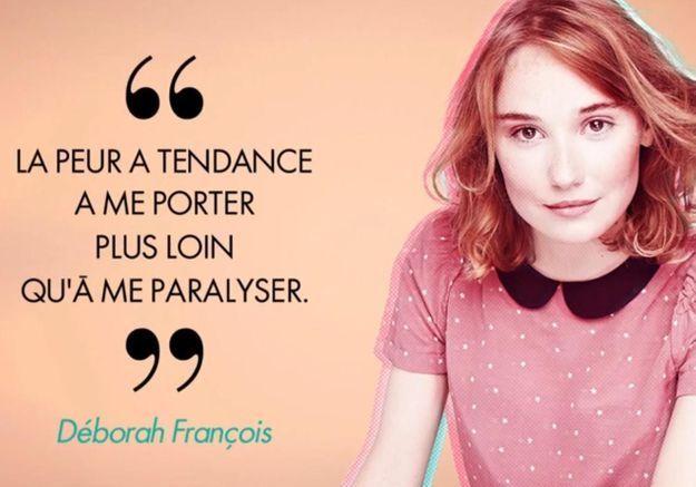 Follow me, une journée avec... Déborah François