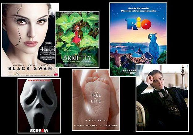 Cinéma : les 20 films attendus en 2011