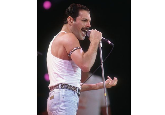 Freddie Mercury en 1985