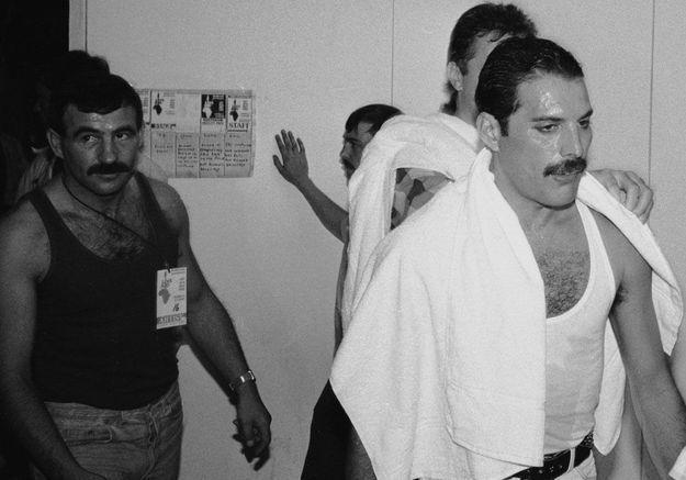 Jim Hutton, le dernier amour de Freddie Mercury, en 1985