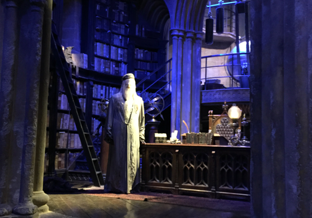Le bureau de Dumbledore