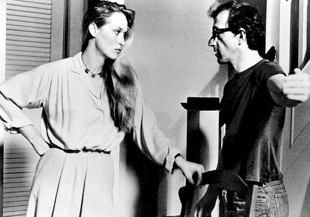 Meryl streep avec woody allen en 1979