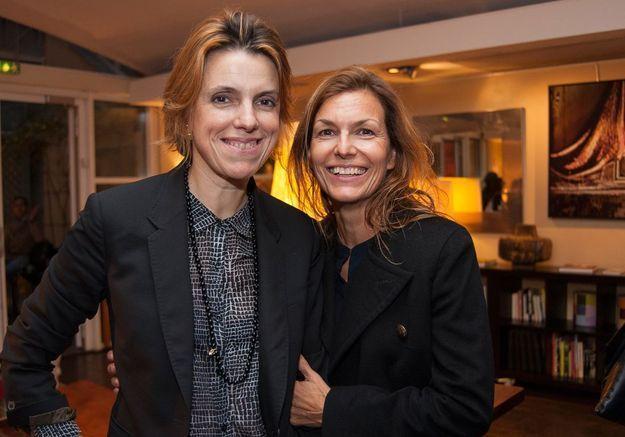 Françoise-Marie Santucci et Sophie Boilley