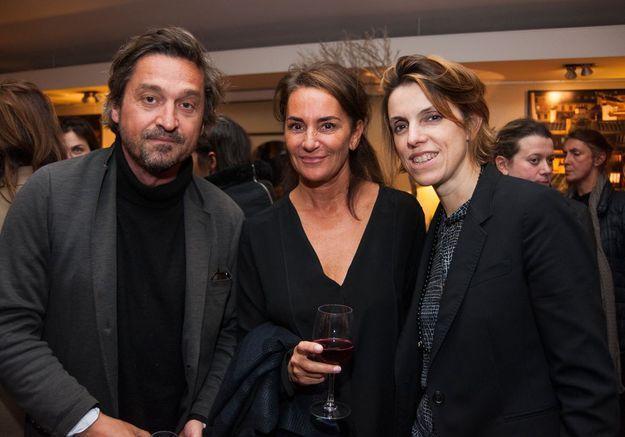 Louis-Do de Lencquesaing, Constance Benqué et Françoise-Marie Santucci