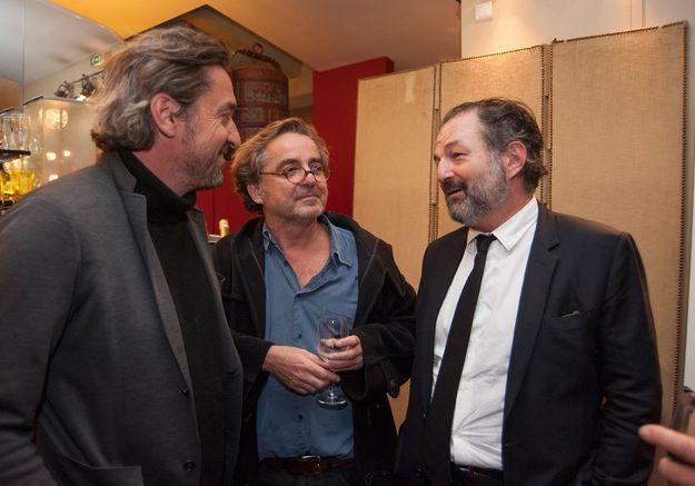 Louis-Do de Lencquesaing, Franck Nouchi et Denis Olivennes
