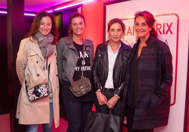 Marion Ruggieri, Nathalie Dupuis, Olivia de Lamberterie et Constance Benqué