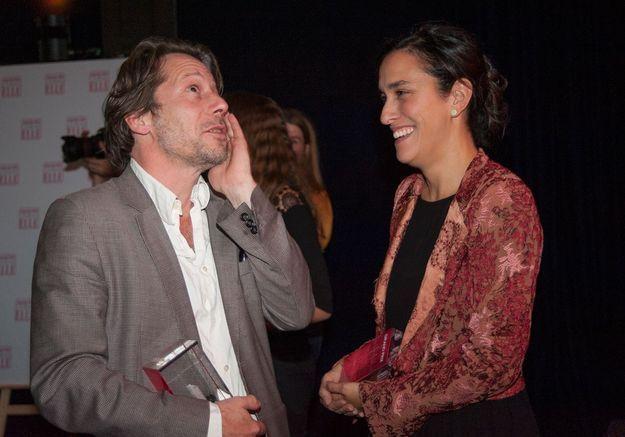 Mathieu Amalric et Sarah Gavron