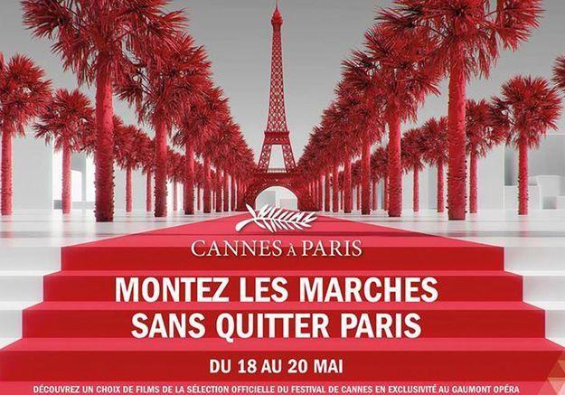 « Cannes à Paris » : foulez le tapis rouge sans quitter la capitale