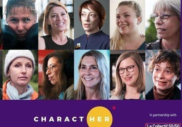 « CharactHer » : la campagne du collectif 50/50 qui met à l'honneur la féminisation des métiers du cinéma