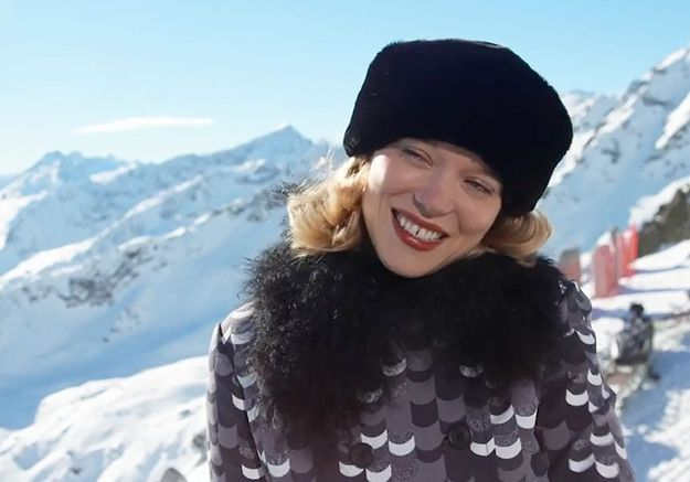 Enfin les images de Léa Seydoux en James Bond girl dans Spectre