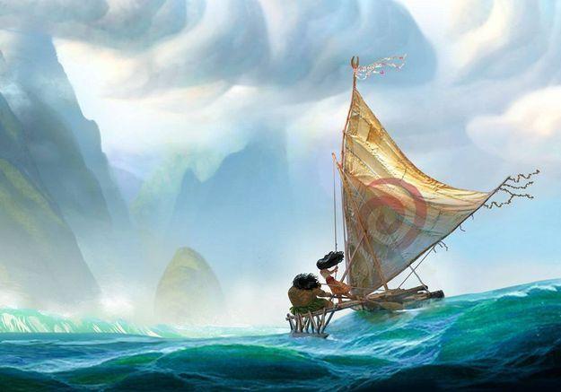 Disney dévoile la première image de Moana, son prochain film d'animation