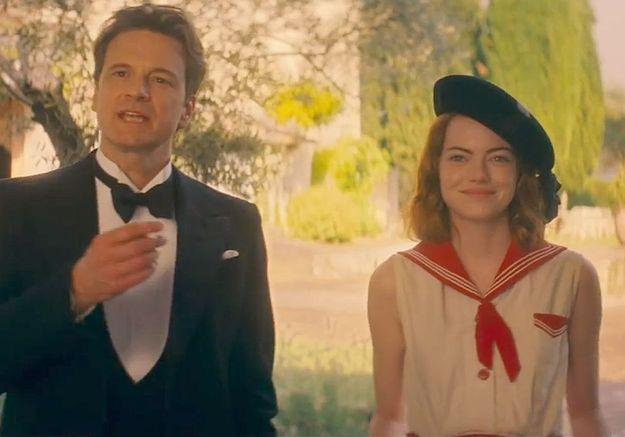Emma Stone envoûte Colin Firth dans le prochain Woody Allen