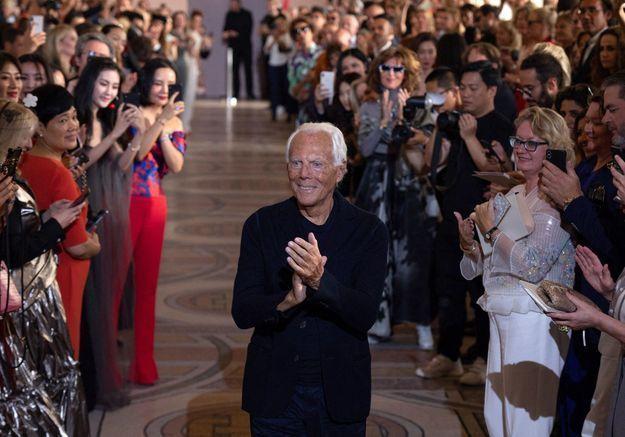 Giorgio Armani : « Mon travail pour le cinéma a beaucoup influencé mes collections »