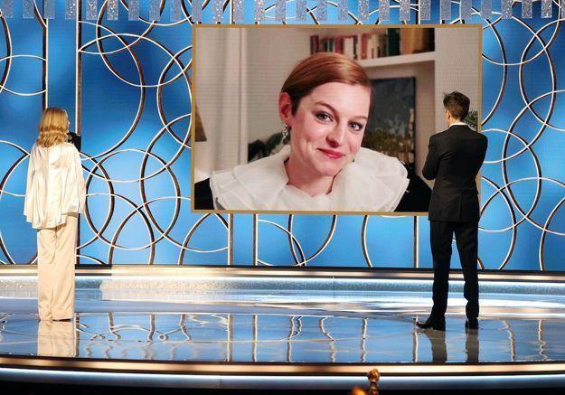 Golden Globes : Emma Corrin rend hommage à la princesse Diana lors de son discours
