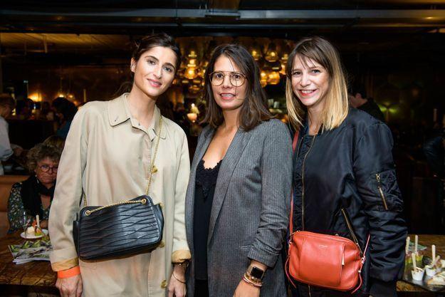 Alice Gicquel, Aurore Godon et Charlotte Camus (ELLE)