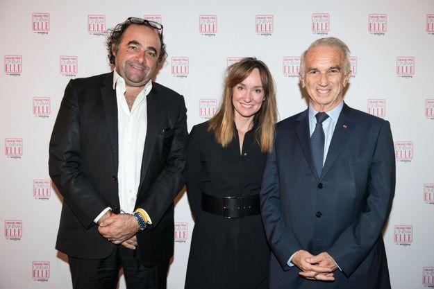 David Vatinet, Erin Doherty et Alain Terzian