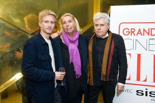 Loann Greulich, Isabelle Brulier et André Paul Ricci