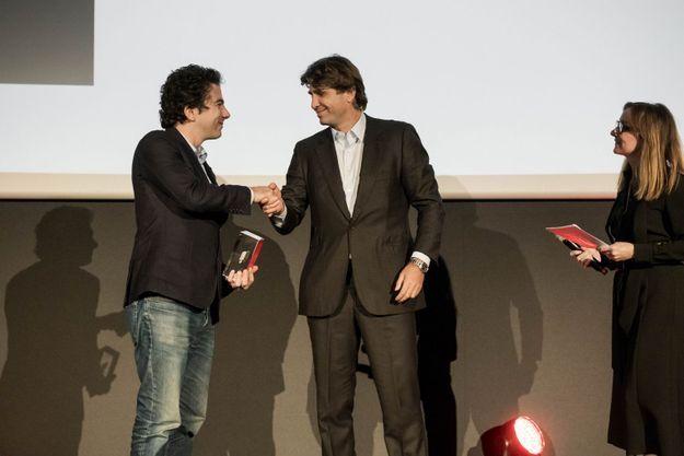 Nathanael Karmitz et Philippe d'Ornano