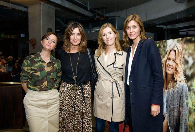 Véronique Vatinos, Véronique Landry, Delphine Fraignaud (Sisley Paris) et Camille Burnier Zink (ELLE)