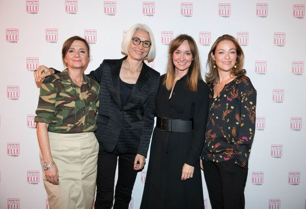 Véronique Vatinos, Françoise Delbecq, Erin Doherty et Philomène Piégay